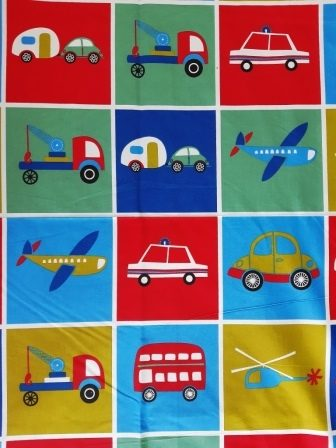 Kids Toys Police Cars Planes Bed sheet