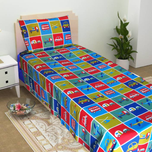 Cars Planes Toys Bedsheet